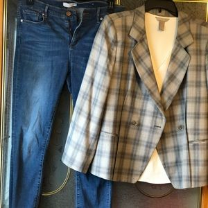 Armani double breasted jacket